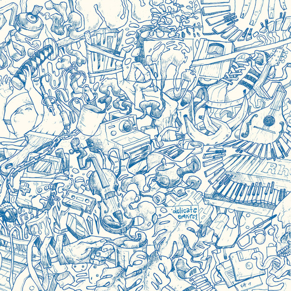 CAPTAIN EARWAX | Delicate Empires (Fifty Records) -LP