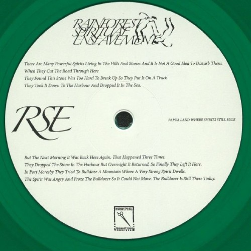 RAINFOREST SPIRITUAL ENSLAVEMENT | Papua Land Where Spirits Still Rule (Hospital Productions) - LP