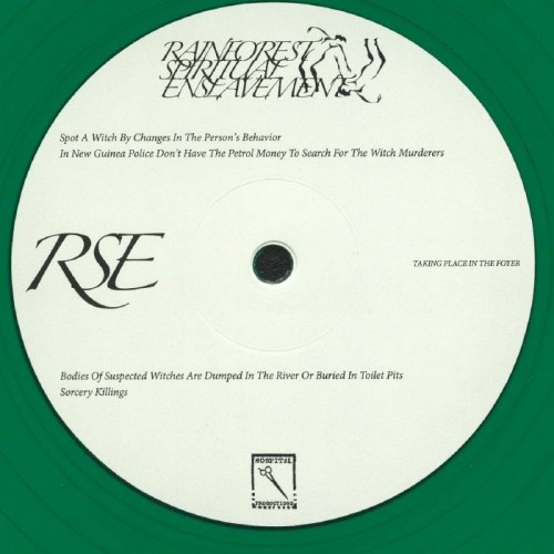 RAINFOREST SPIRITUAL ENSLAVEMENT | Taking Place In The Foyer (Hospital Productions) - LP