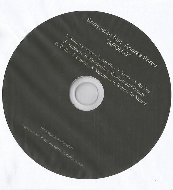 Bodyverse Feat Andrea Porcu Apollo Rohs Records