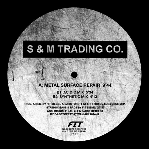 S & M TRADING CO. | Metal Surface Repair (Fit Sound) - EP