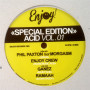 VARIOUS ARTISTS | Special Edition Acid Vol.01 ( Enjoy! Records /The House Of Love) - EP