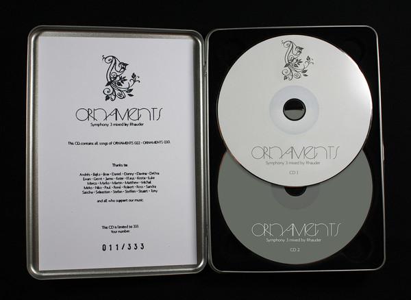 VARIOUS ARTISTS   Ornaments Symphony 3 Mixed By Rhauder (Ornaments) – 2xCD