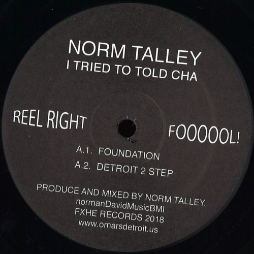 NORM TALLEY | I Tried To Told Cha (FXHE Records) - EP
