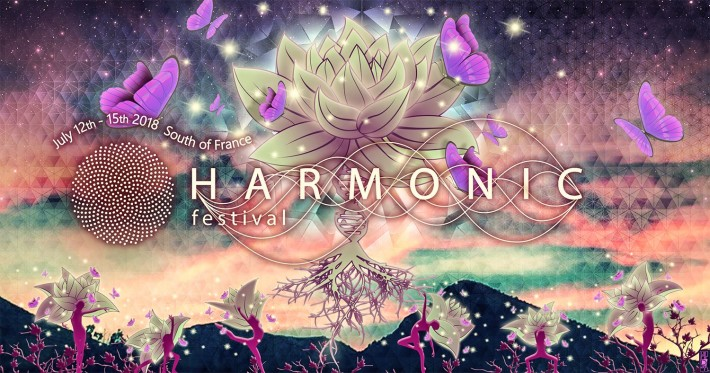 Opale and Tall Ced will be playing for the 4th edition of Harmonic Festival from July 12th to 15th at Trigance.