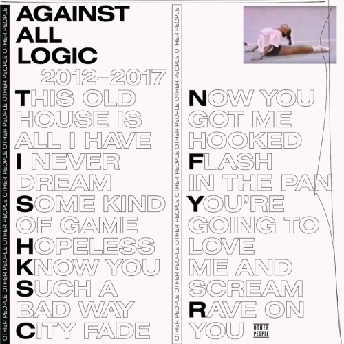 AGAINST ALL LOGIC | 2012-2017 (Other People) - 2xLP