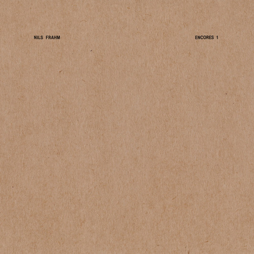 NILS FRAHM | Encores 1 (Erased Tapes Records) -LP