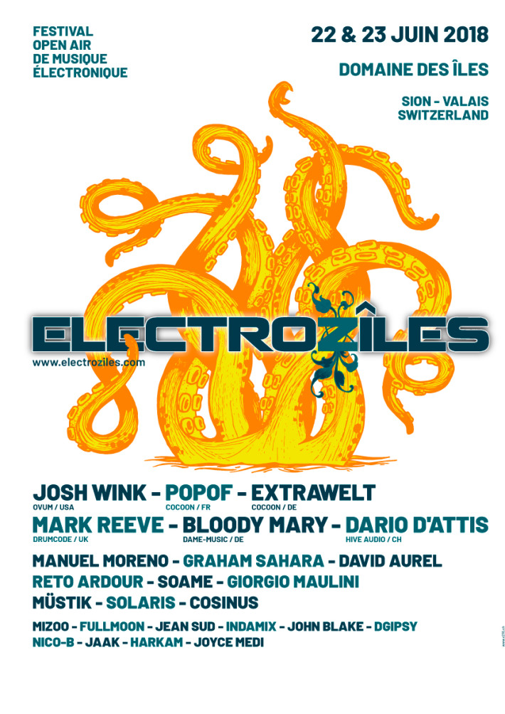 For the 7th edition of the Electrozîles Festival, our Swiss representative DJ Mizoo will be playing a 3H set on Friday 22nd alongside Josh Wink, Popof, Extrawelt and many more...