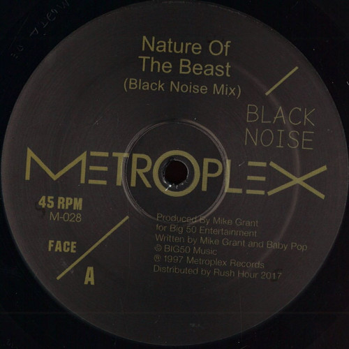 BLACK NOISE | Nature Of The Beast (Metroplex) - EP