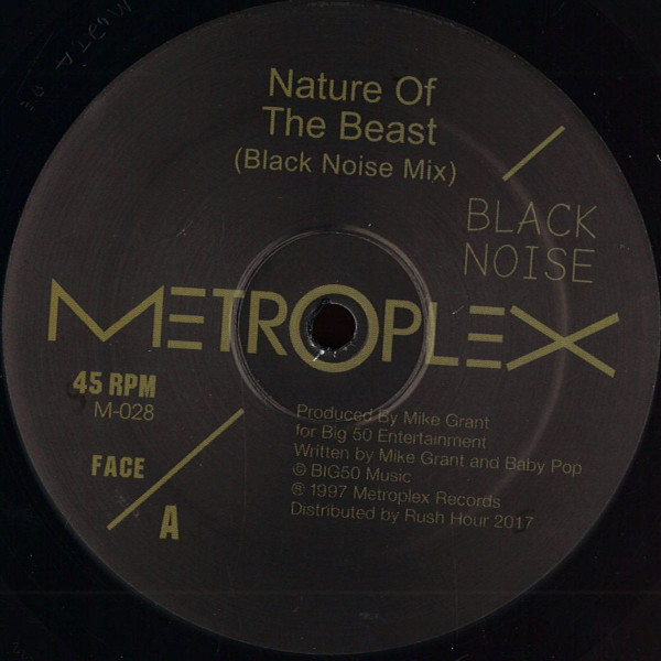 BLACK NOISE | Nature Of The Beast (Metroplex) – EP