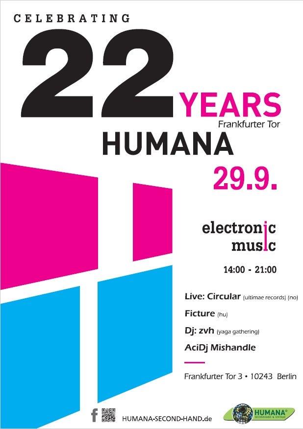 Humana Frankfurter Tor 22 Jahre Jubiläum