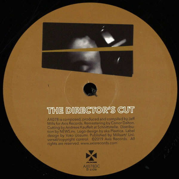 JEFF MILLS | The Director's Cut Chapter 1 (Axis Records) – EP