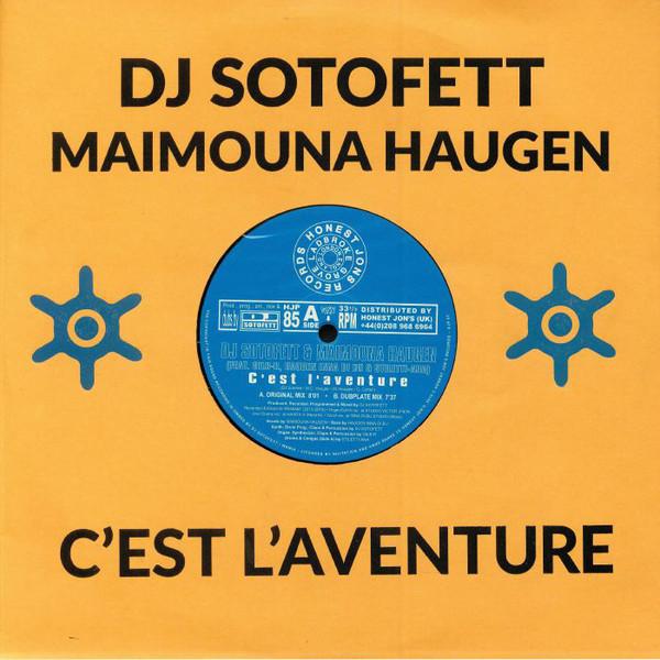 DJ STOFETT & MAIMOUNA HAUGEN | C'Est L'Aventure (Honest Jon's Records)