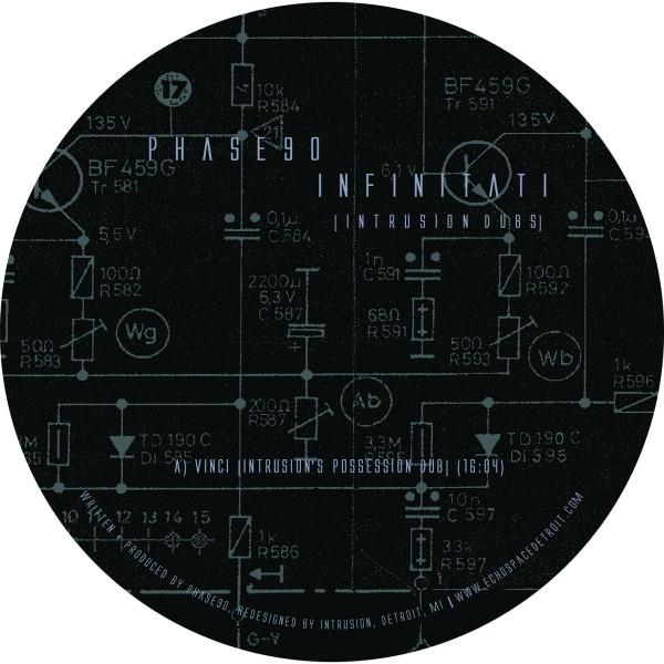 PHASE90   Infinitati [Intrusion Dubs] (Echospace Detroit) – EP