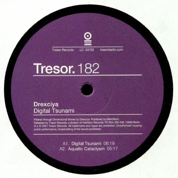 DREXCIYA | Digital Tsunami (Tresor Records) – EP