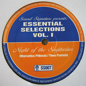 PITTMAN / PARRISH | Essential Selections Vol. 1 (Sound Signature)