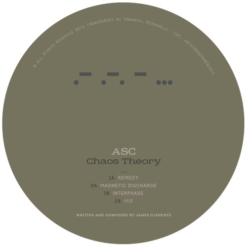 ASC | Chaos Theory (Arts Transparent) - EP