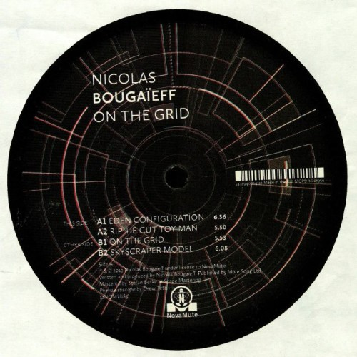 NICOLAS BOUGAÏEFF | On The Grid (Novamute) - EP