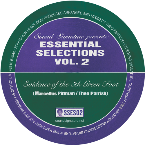 PITTMAN / PARRISH | Essential Selections Vol. 2 (Sound Signature)