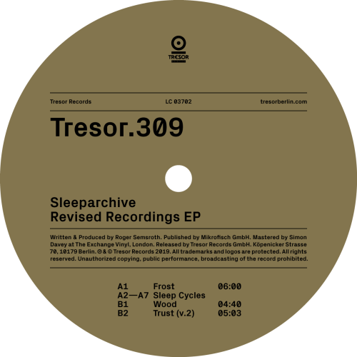 SLEEPARCHIVE | Revised Recordings EP (Tresor Records)