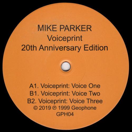 MIKE PARKER | Voiceprint (Geophone) - EP