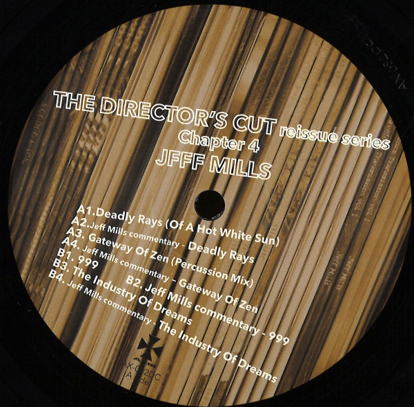 JEFF MILLS | The Director's Cut Chapter 4 (Axis Records) – EP