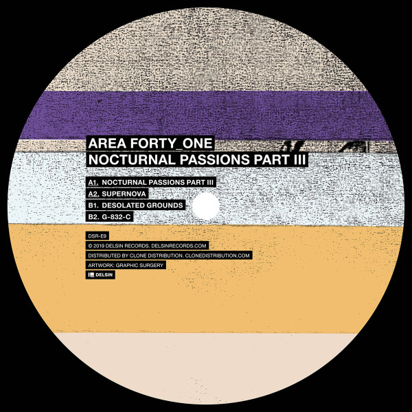 AREA FORTY_ONE | Nocturnal Passions Part III (Delsin) – EP