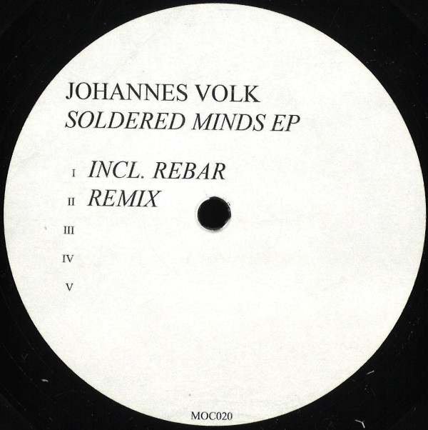 JOHANNES VOLK | Soldered Minds (Made Of Concrete) – EP