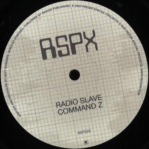 RADIO SLAVE | Command Z (Rekids) - EP