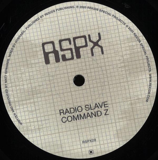 RADIO SLAVE | Command Z (Rekids) – EP