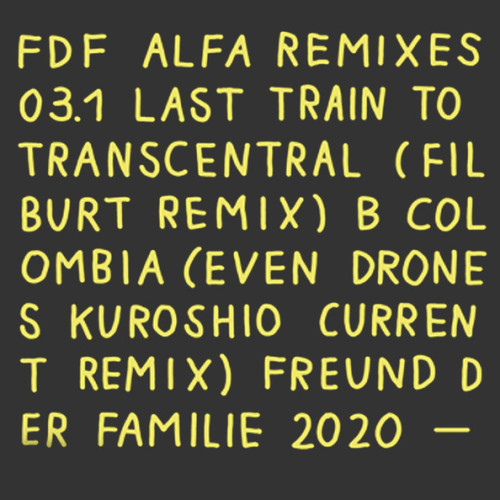 FREUND DER FAMILIE | Alfa Remixes #3.1 - EP