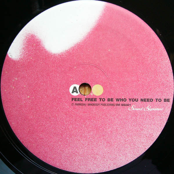 THEO PARRISH | Feel Free To Be Who You Need To Be – EP