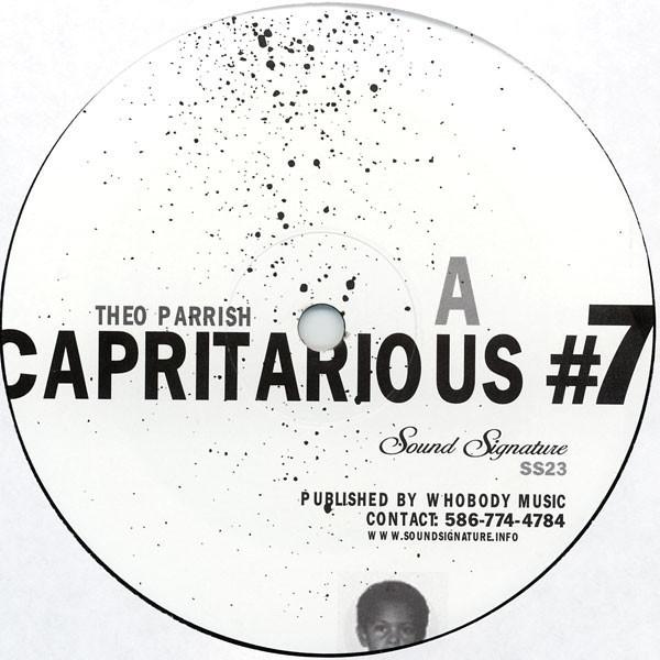 THEO PARRISH | Capritarious #7 / Levels (Sound Signature)