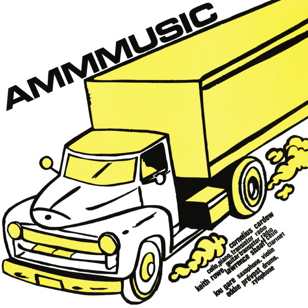 AMM | Ammusic (Black Truffle) – LP