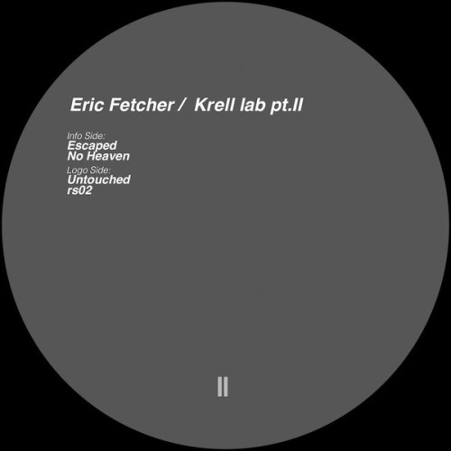 ERIC FETCHER | Krell lab pt.2 (Key Vinyl) - EP