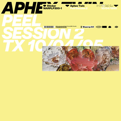 APHEX TWIN | Peel Session 2 (Warp Records) - EP