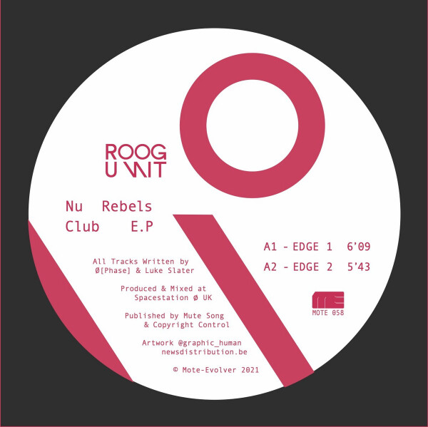 ROOG UNIT | Nu Rebels Club (Mote-Evolver) – EP