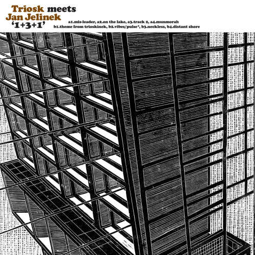 TRIOSK MEETS JAN JELINEK | 1+3+1 (Faitiche) - LP