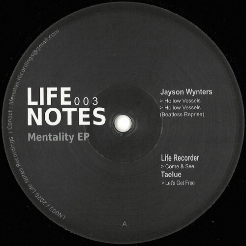 Mentality EP | VARIOUS ARTISTS (Life Notes Recordings) - EP