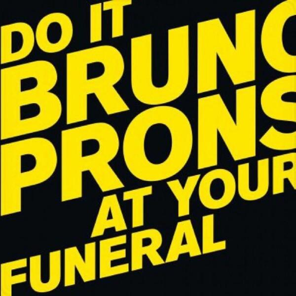 BRUNO PRONSATO | Do It At Your Funeral (Perlon) – 2xLP