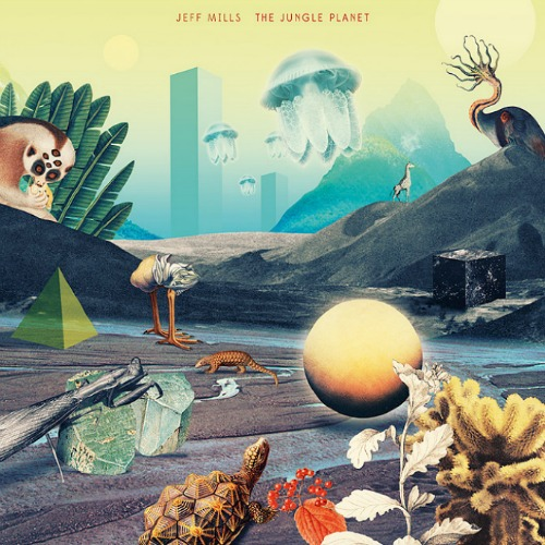 JEFF MILLS | The Jungle Planet (Axis Records) - USB