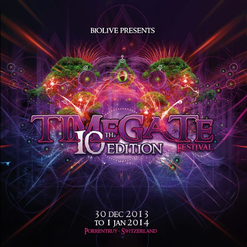 VARIOUS ARTISTS | Timegate 10th Edition (Biolive) - CD