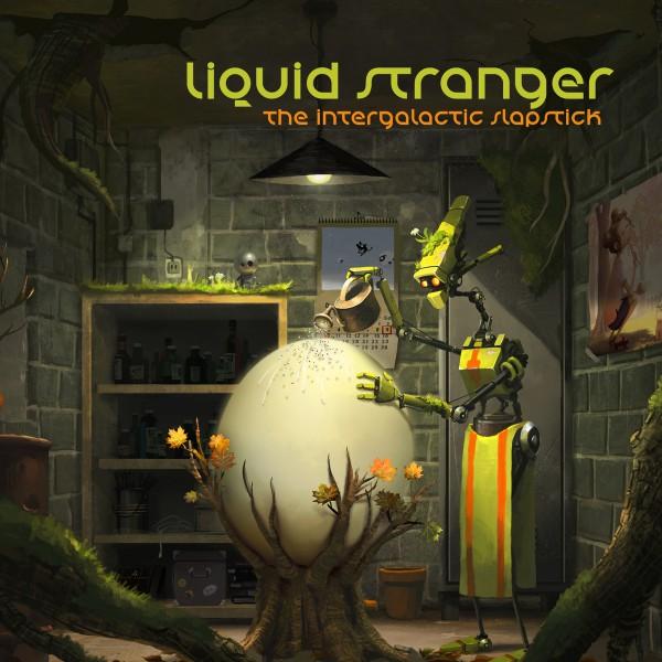 LIQUID STRANGER The Intergalactic Slapstick (Interchill) CD