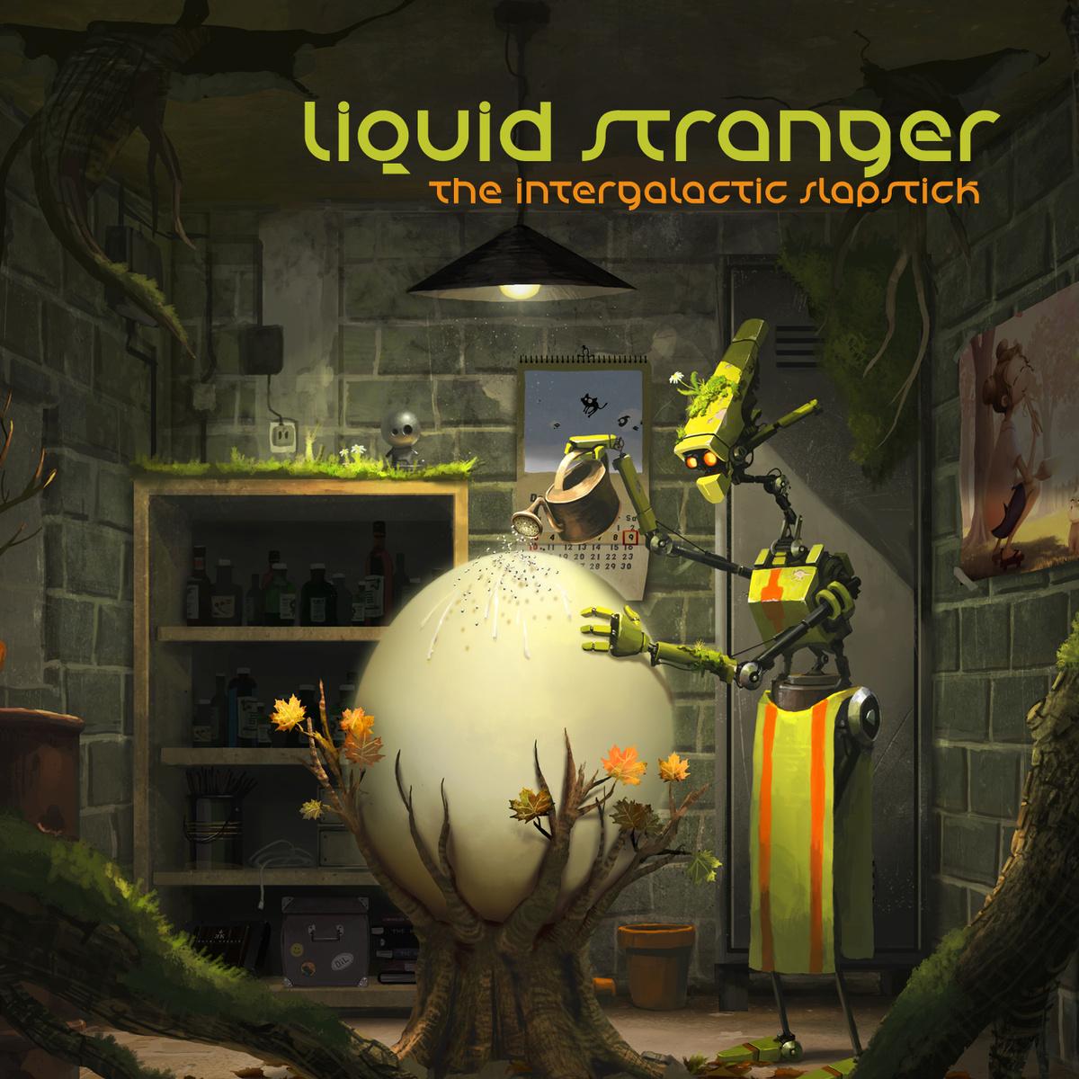 Liquid Stranger The Intergalactic Slapstick Interchill Cd