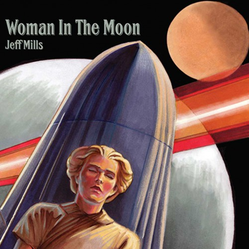 JEFF MILLS - Woman In The Moon (Axis Records) - CD