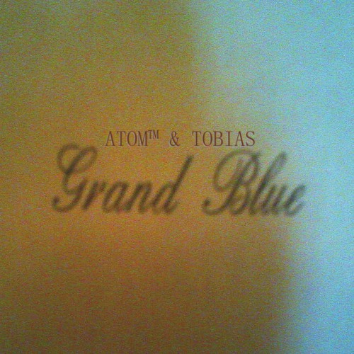 ATOM and TOBIAS Grand Blue (Mule Musq) CD